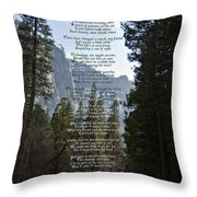 A Walk Among The Trees  Throw Pillow