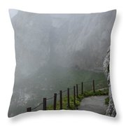 A Walk In The Clouds Throw Pillow
