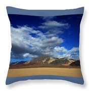 A Walk In The Desert Throw Pillow