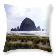 A Walk In The Mist Throw Pillow
