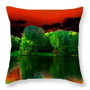 A Walk In The Park 1 Throw Pillow