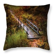 A Walk In The Park II Throw Pillow