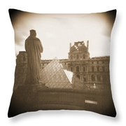 A Walk Through Paris 16 Throw Pillow