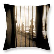 A Walk Through Paris 9 Throw Pillow by Mike McGlothlen