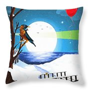 A Walk To Remember Throw Pillow