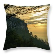 A Warm Autumn Morning Throw Pillow