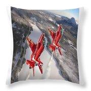 A Warm Winter2 Throw Pillow