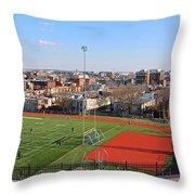 A Washington View From Cardoza High School Throw Pillow