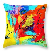 A Way Out To The Light Throw Pillow