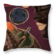 A Way To A Man Heart Throw Pillow