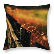 A Weary Sunrise Throw Pillow