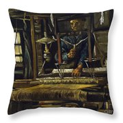 A Weavers Cottage Throw Pillow