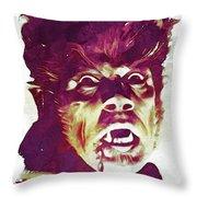 A Werewolf In London Throw Pillow