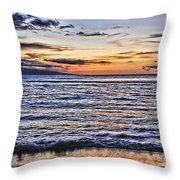A Western Maui Sunset Throw Pillow