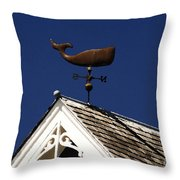A Whale Of A House Throw Pillow