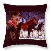 A Wild Heart Throw Pillow
