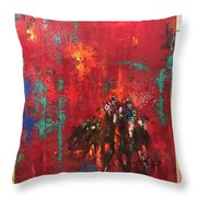 A Win For Willow  Throw Pillow