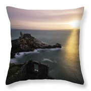 A Window On The Sea Throw Pillow