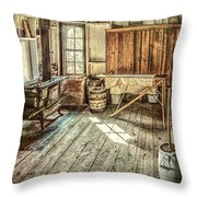 A Window To The Past Throw Pillow