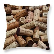 A Wine Lovers Dream Throw Pillow