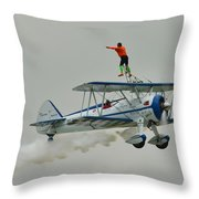 A Wing And A Prayer Throw Pillow
