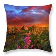 A Wisconsin Story Throw Pillow