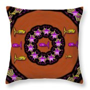 A Wish For A Fish Ocean Peace Throw Pillow