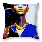 A Womans Strength Throw Pillow