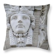 A Woman's View Throw Pillow