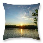 A Wonderful Evening Throw Pillow