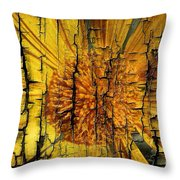 A Woody Texture Throw Pillow