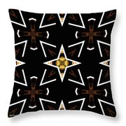 A World Of Abstract Throw Pillow