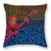 A World Of My Own Throw Pillow