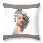 A World Within Me Throw Pillow