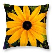 A Yellow Beauty Throw Pillow
