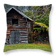 A Yellow Cover Throw Pillow