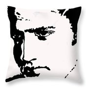 A Young Elvis Throw Pillow