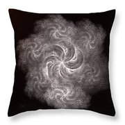 a011_2 Santa Claus Is Coming To Town Throw Pillow