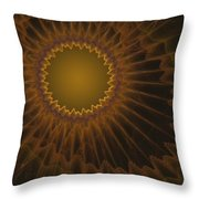 a044 Sunny Side Of The Galaxy Throw Pillow