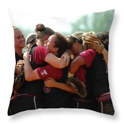 A10 Victory Celebration Throw Pillow