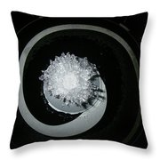 A320 Spinner Ice Throw Pillow