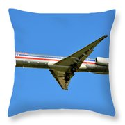 Aa One Throw Pillow