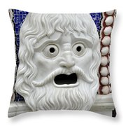Aaaack Throw Pillow