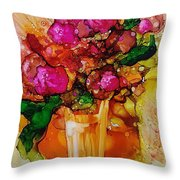 Aaaah Spring Throw Pillow