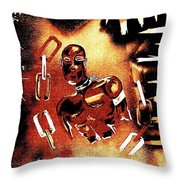 A.a.h.s. In Brown Throw Pillow