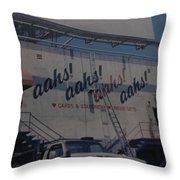 Aahs Throw Pillow
