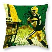 Aaron Rodgers 2015 Throw Pillow