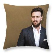 Aaron Taylor-johnson Throw Pillow