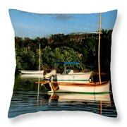 Abacos Quiet Throw Pillow