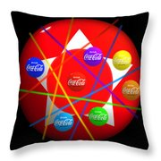 Abacus Game Throw Pillow
